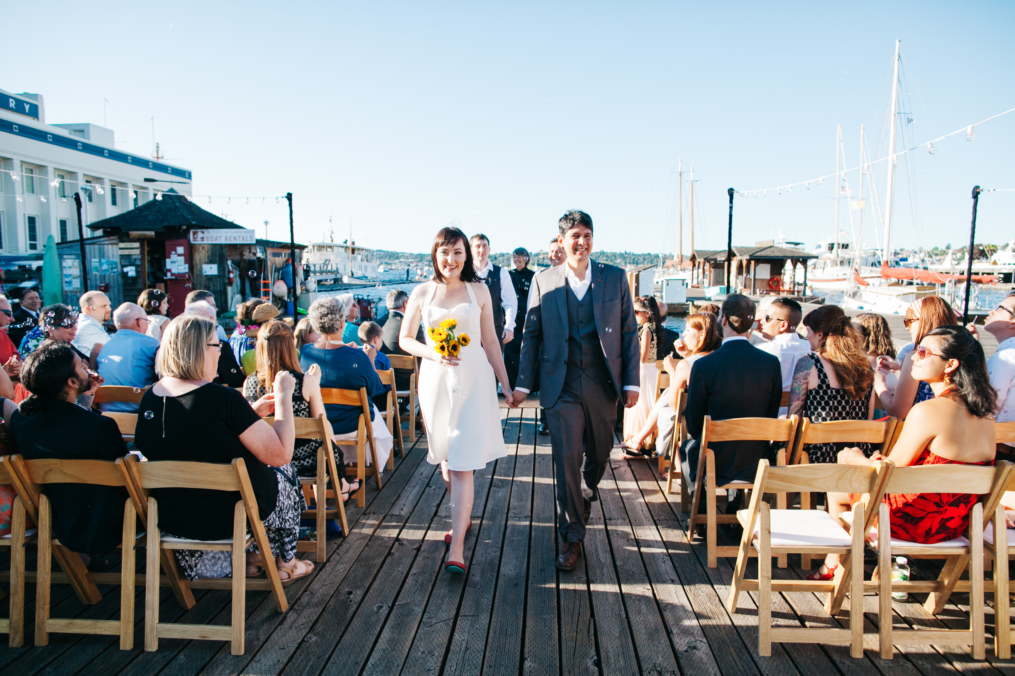 Center For Wooden Boats Wedding Shannon Ed Seattle Portland Planner Perfectly Posh Events