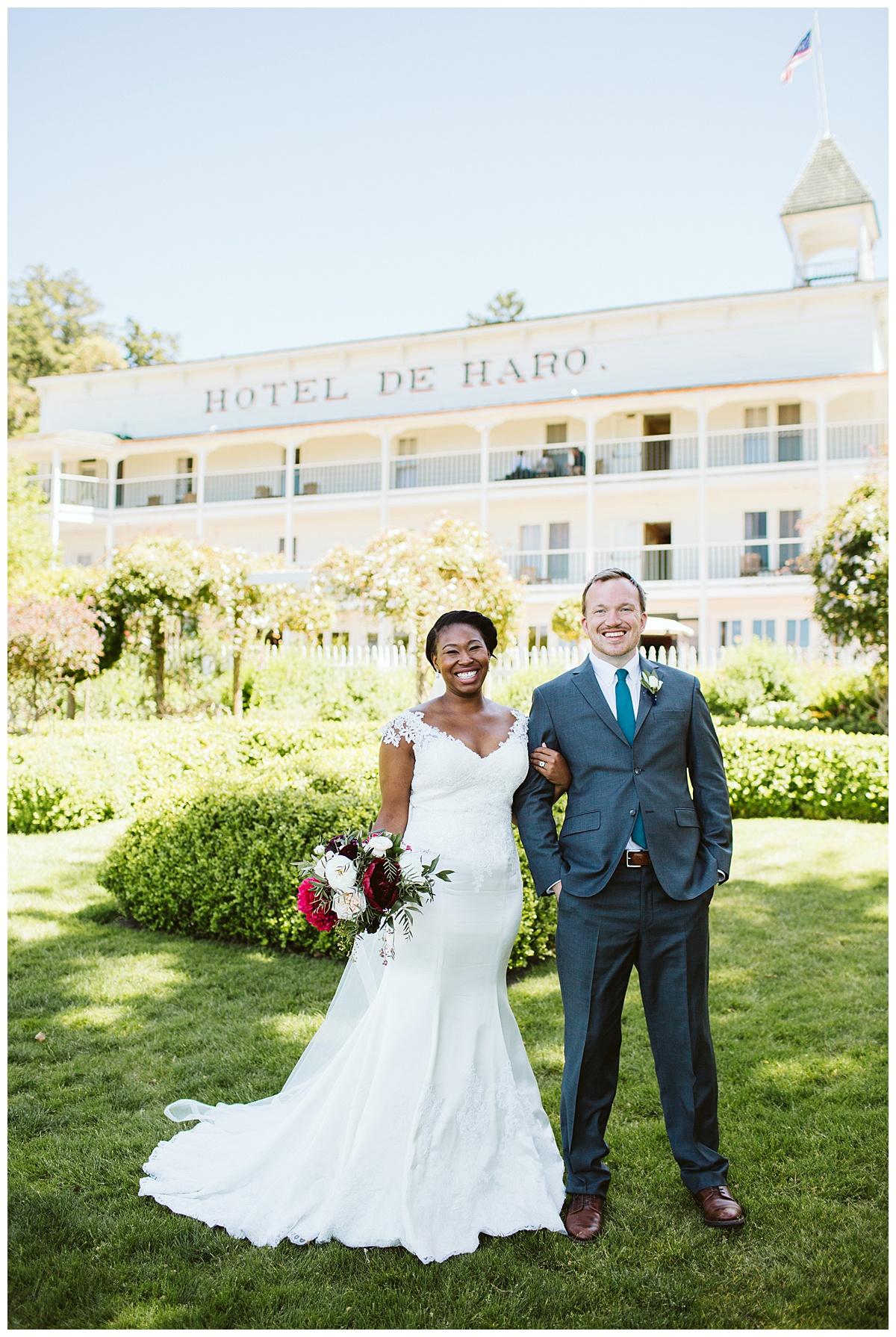 Roche Harbor Wedding | Lacey + Sam
